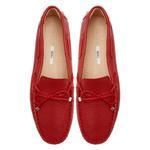 Kırmızı Nerice Kadın Deri Loafer 2010047351019