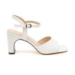 Beyaz Teah Kadın Sandalet 2010047425008