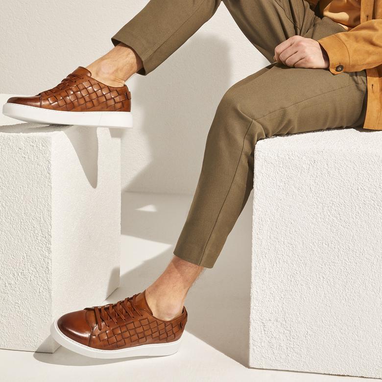 Anton Erkek Deri Günlük Ayakkabı 2010047143007