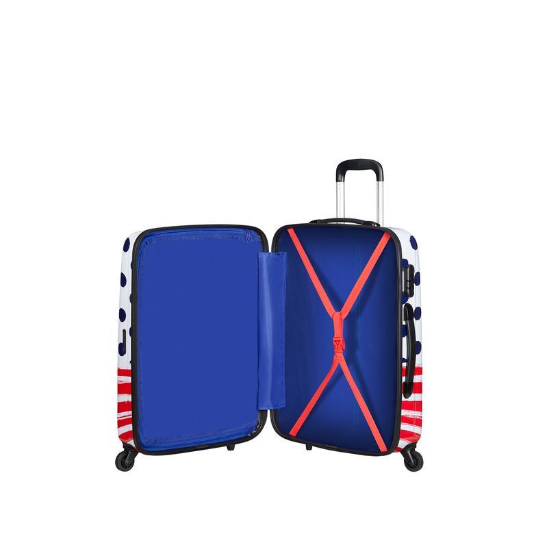 American Tourister Spinner 4 Tekerlekli Orta Boy Valiz 65cm 2010047686001