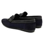 Lacivert Mauro Erkek Loafer Günlük Ayakkabı 2010047667006