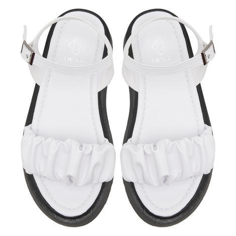 Beyaz Crocus Kadın Sandalet 2010047656008