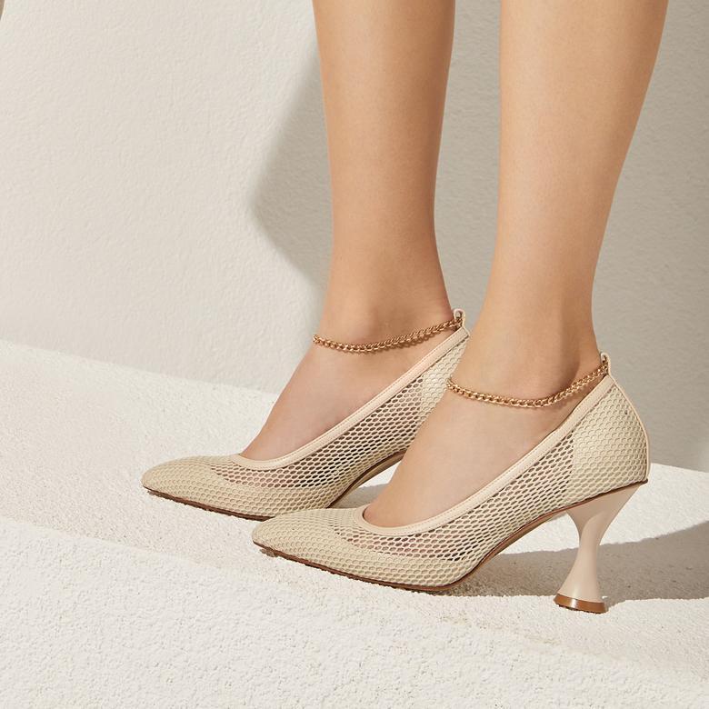 Pudra Karla Kadın Klasik Ayakkabı 2010047317001