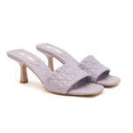Calvina Kadın Topuklu Deri Terlik 2010047430013