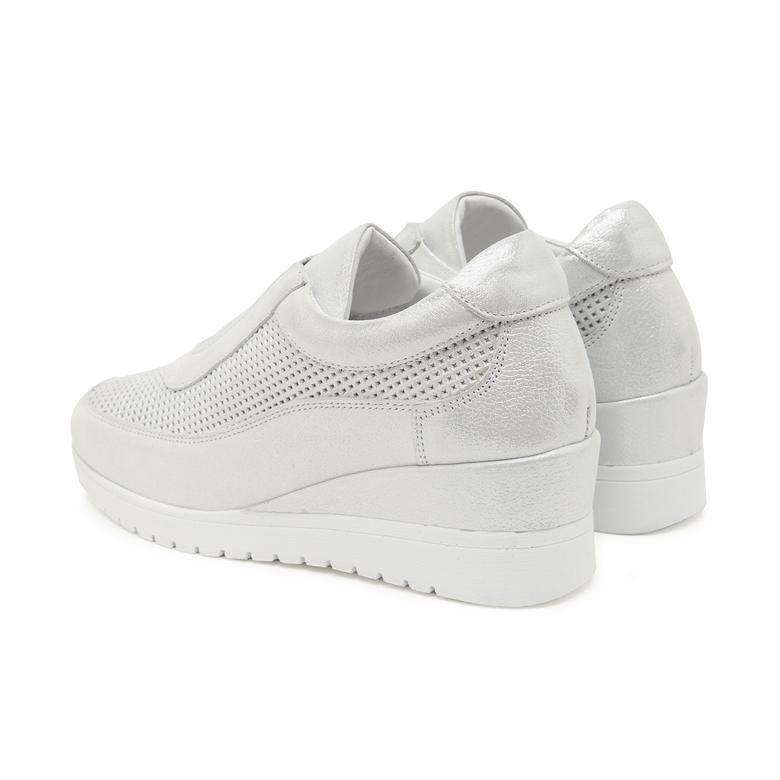 Beyaz Juana Kadın Günlük Ayakkabı 2010047585006
