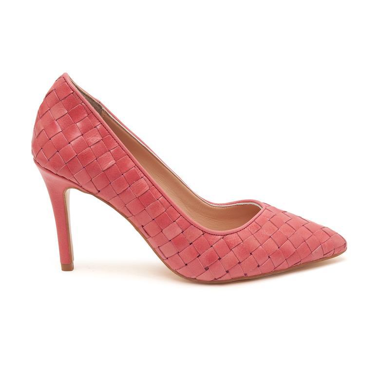 Kırmızı Alba Kadın Klasik Ayakkabı 2010047677024