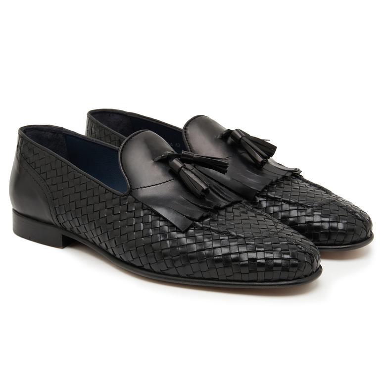 Siyah Stew Erkek Klasik Ayakkabı 2010047674008