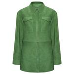 Yeşil Mancuso Kadın Süet Gömlek 1010031931001