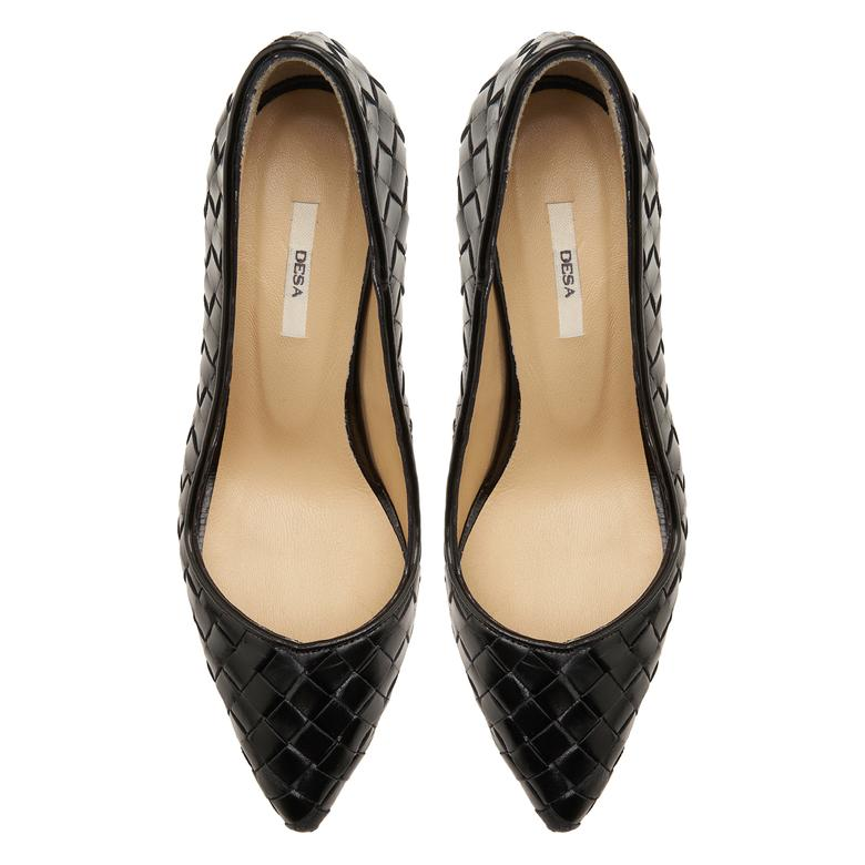 Siyah Alba Kadın Klasik Ayakkabı 2010047677001