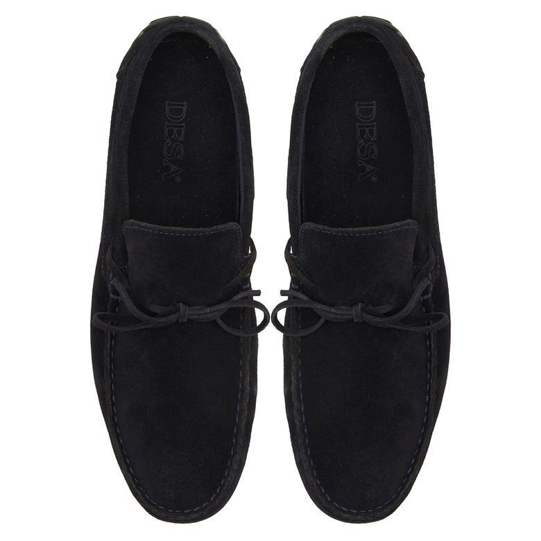 Lacivert Dario Erkek Loafer Loafer Günlük Ayakkabı 2010047659015