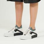 Beyaz Viola Kadın Spor Ayakkabı 2010047234006