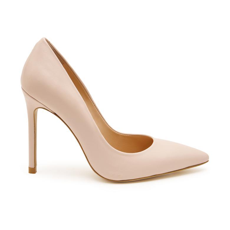 Bej Mia Kadın Deri Klasik Ayakkabı 2010047576008