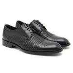 Siyah Erkek Klasik Ayakkabı 2010047580002