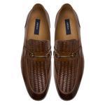 Brio Erkek Örgü Deri Klasik Ayakkabı 2010047578011