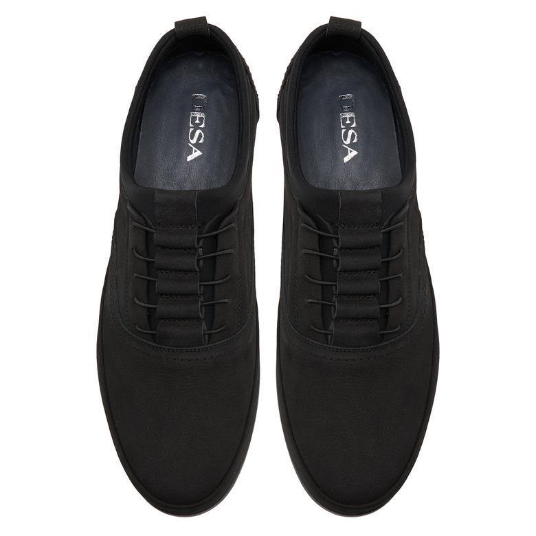 Emil Siyah Erkek Nubuk Günlük Ayakkabı 2010047741001