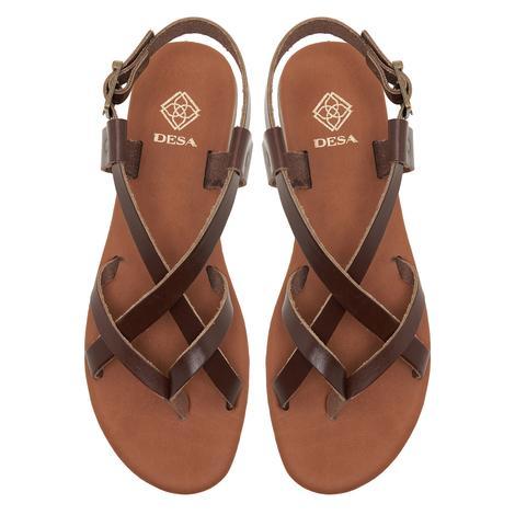 Kadın Deri Sandalet 2010047777007