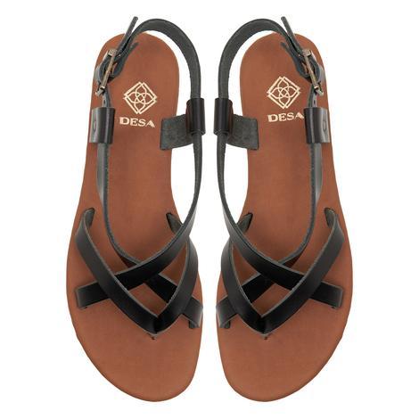 Kadın Deri Sandalet 2010047777001