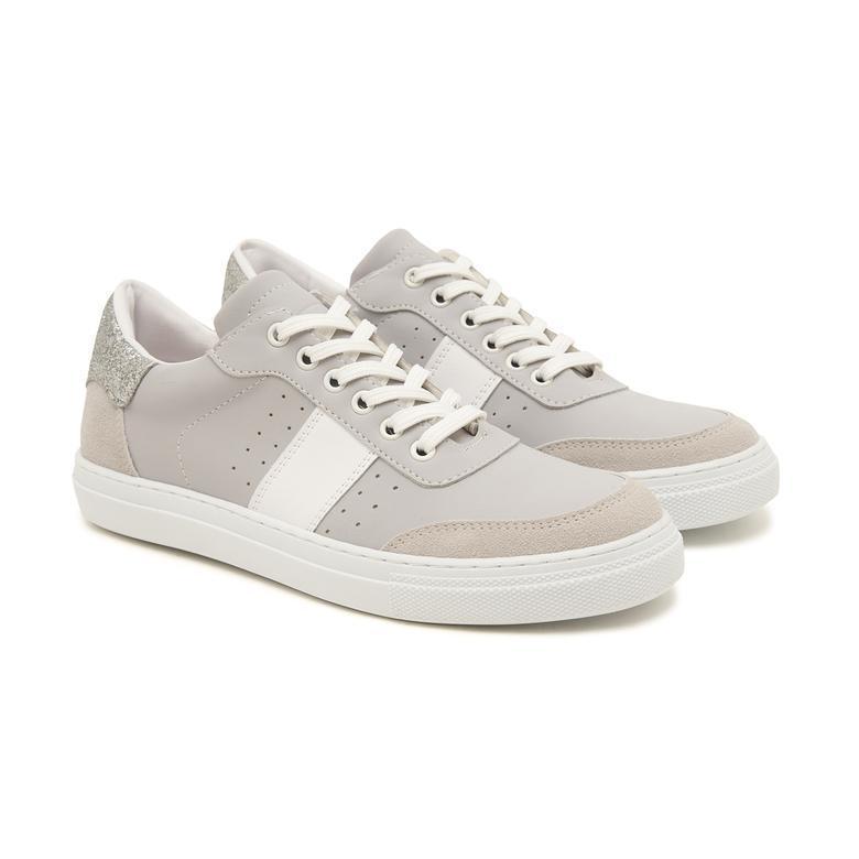 Beyaz Banes Kadın Spor Ayakkabı 2010047610012