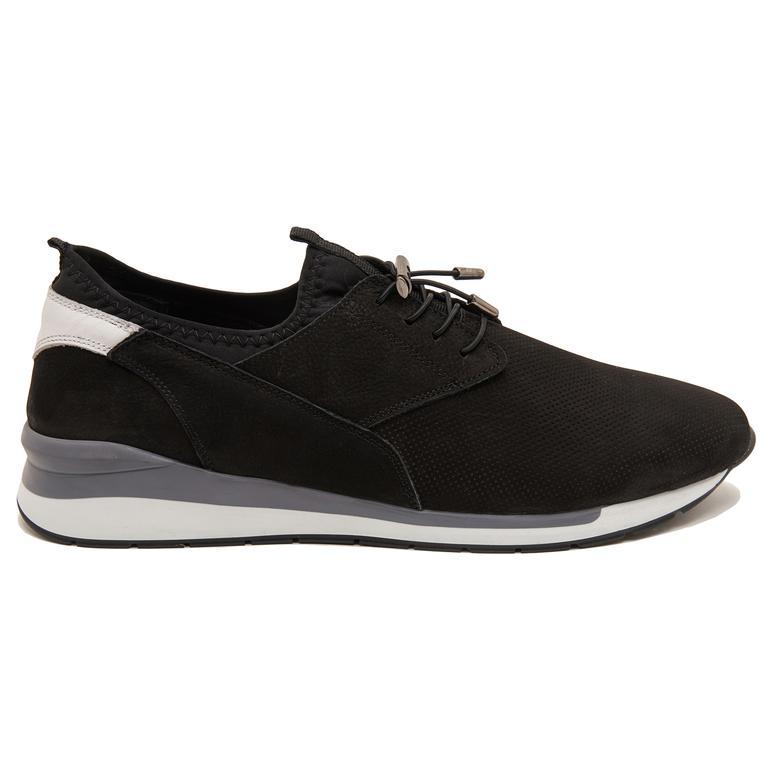 Siyah Jeff Erkek Nubuk Spor Ayakkabı 2010047612013