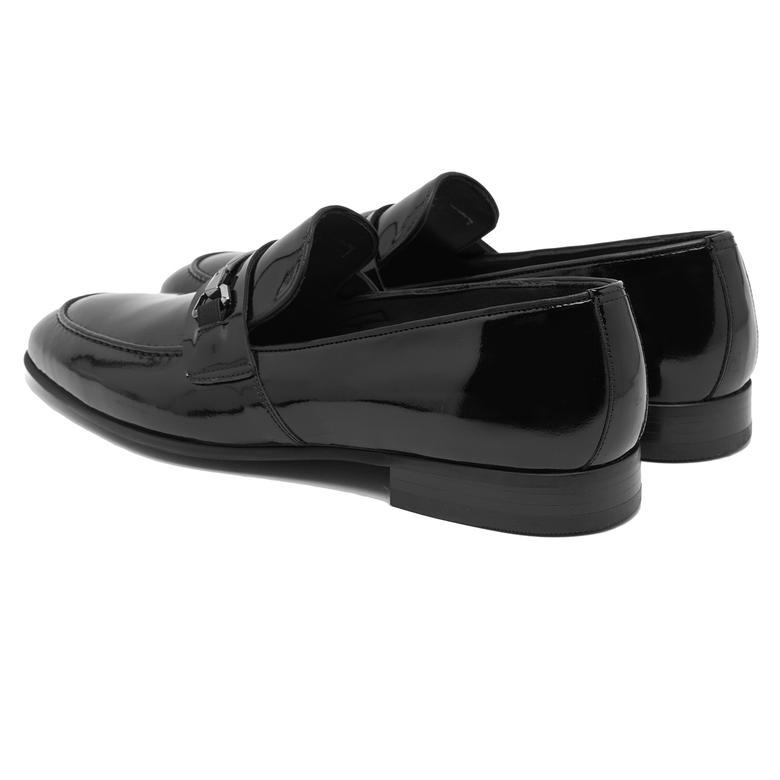 Siyah Oscar Erkek Rugan Klasik Ayakkabı 2010047652005
