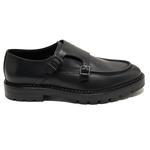 Tyler Siyah Erkek Deri Günlük Ayakkabı 2010047789005