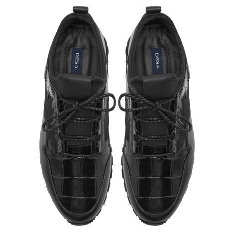 Mylo Siyah Erkek Spor Ayakkabı 2010047768001