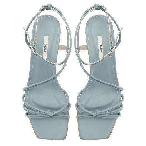 Gri Anthea Kadın Deri Sandalet 2010047230003