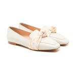 Beyaz Clelia Kadın Loafer Günlük Ayakkabı 2010047683003