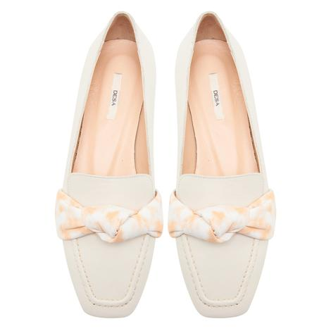 Beyaz Clelia Kadın Deri Günlük Ayakkabı 2010047683003