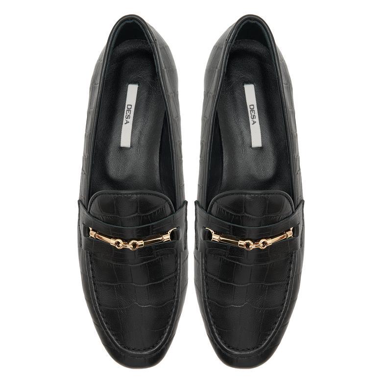Siyah Kadın Loafer Günlük Ayakkabı 2010047958001