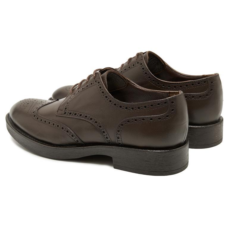 Paol Kahve Erkek Deri Klasik Ayakkabı 2010048028014