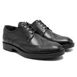 Paol Siyah Erkek Deri Klasik Ayakkabı 2010048028002