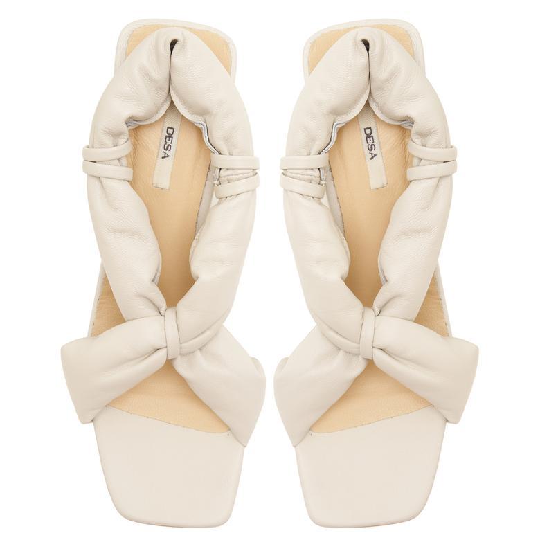 Beyaz Julina Kadın Sandalet 2010047433008