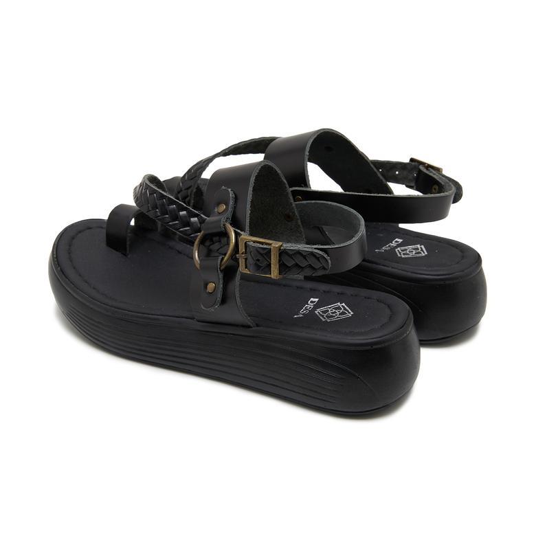 Siyah Kadın Sandalet 2010047841001