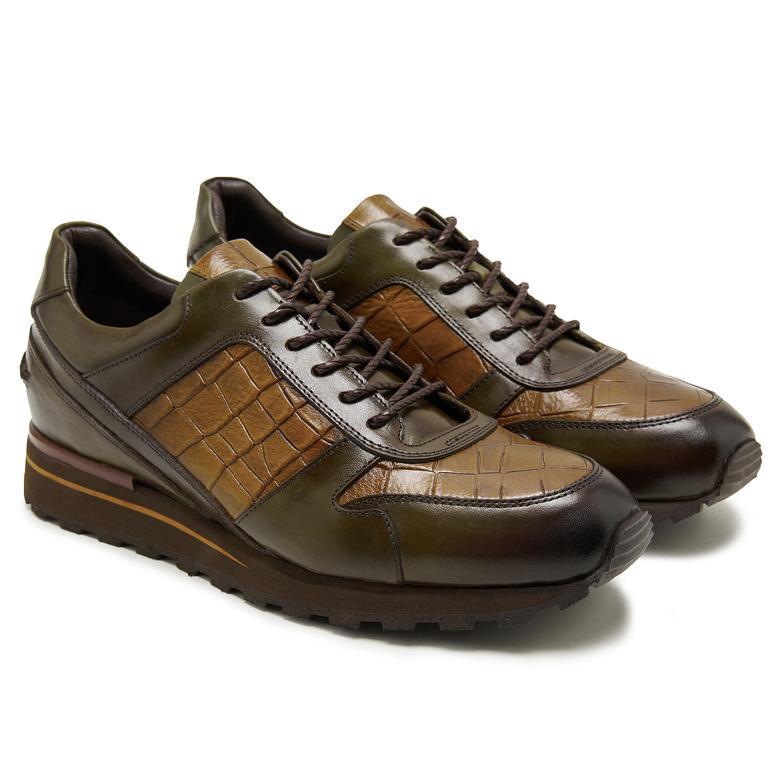 Max Haki Erkek Spor Ayakkabı 2010047788007
