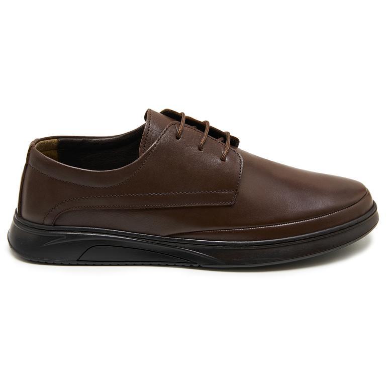 Allan Kahve Erkek Günlük Ayakkabı 2010047907006