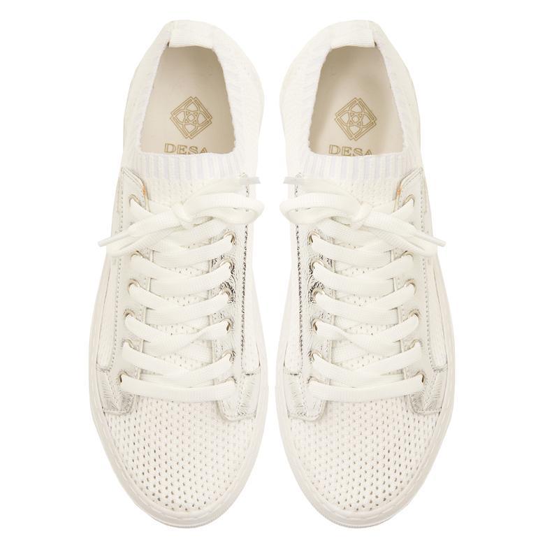Beyaz Allium Kadın Spor Ayakkabı 2010047634001