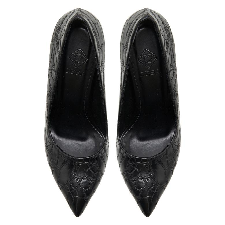 Siyah Kadın Klasik Ayakkabı 2010048081004