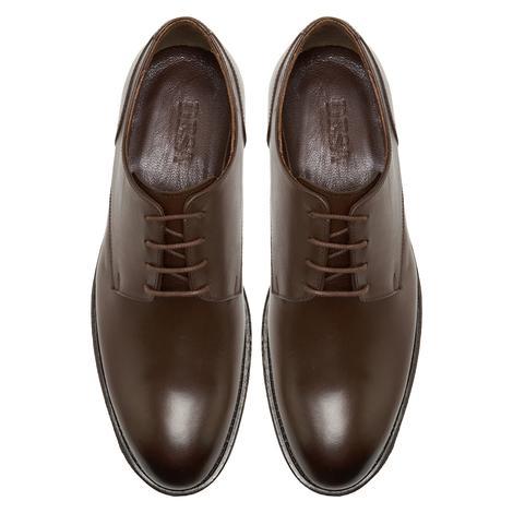 Esteban Kahve Erkek Deri Klasik Ayakkabı 2010048030013
