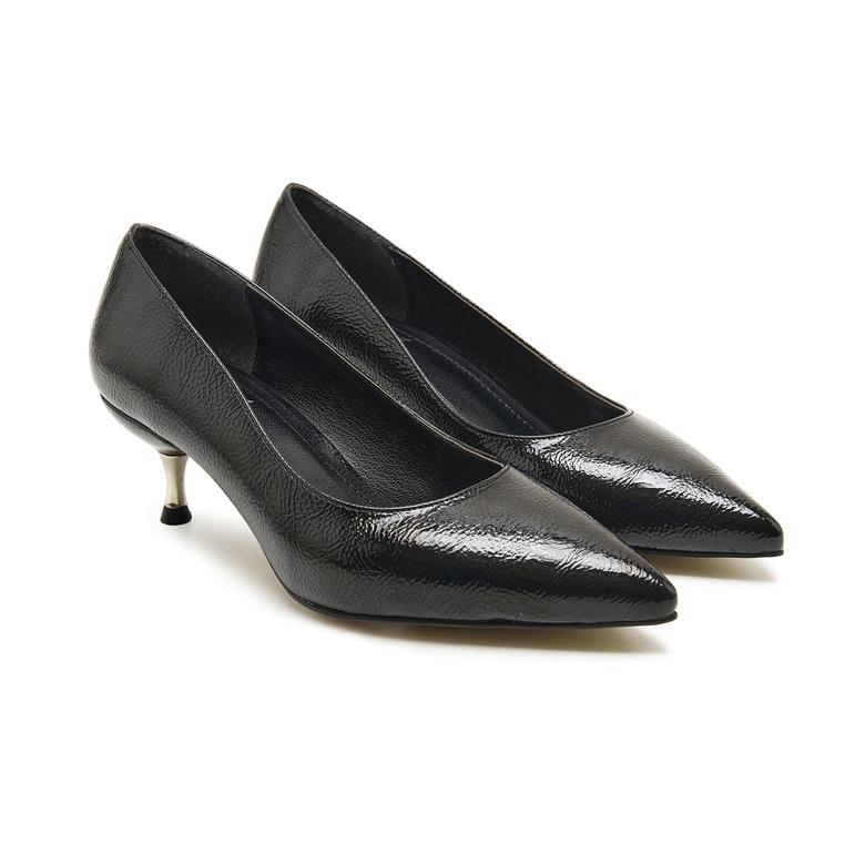 Pari Siyah Kadın Klasik Ayakkabı 2010048167001