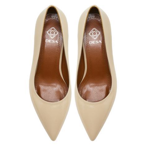 Pari Bej Kadın Klasik Ayakkabı 2010048167007