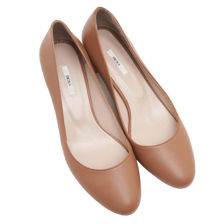Taba Carine Kadın Klasik Ayakkabı 2010046689007
