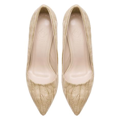 Estelle Bej Kadın Klasik Ayakkabı 2010048081008
