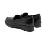 Kallen Siyah Kadın Kroko Baskılı Deri Günlük Ayakkabı 2010047960013