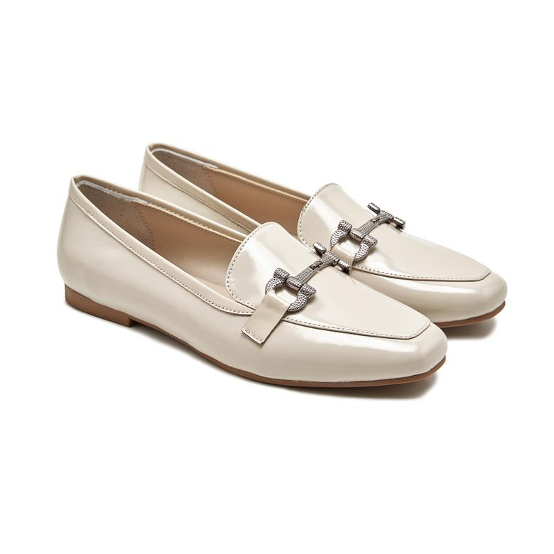 Lando Kadın Rugan Loafer Günlük Ayakkabı 2010047961007