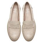 Kallen Beyaz Kadın Kroko Baskılı Deri Günlük Ayakkabı 2010047960006