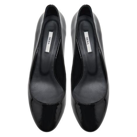 Pina Siyah Kadın Deri Klasik Ayakkabı 2010047998002