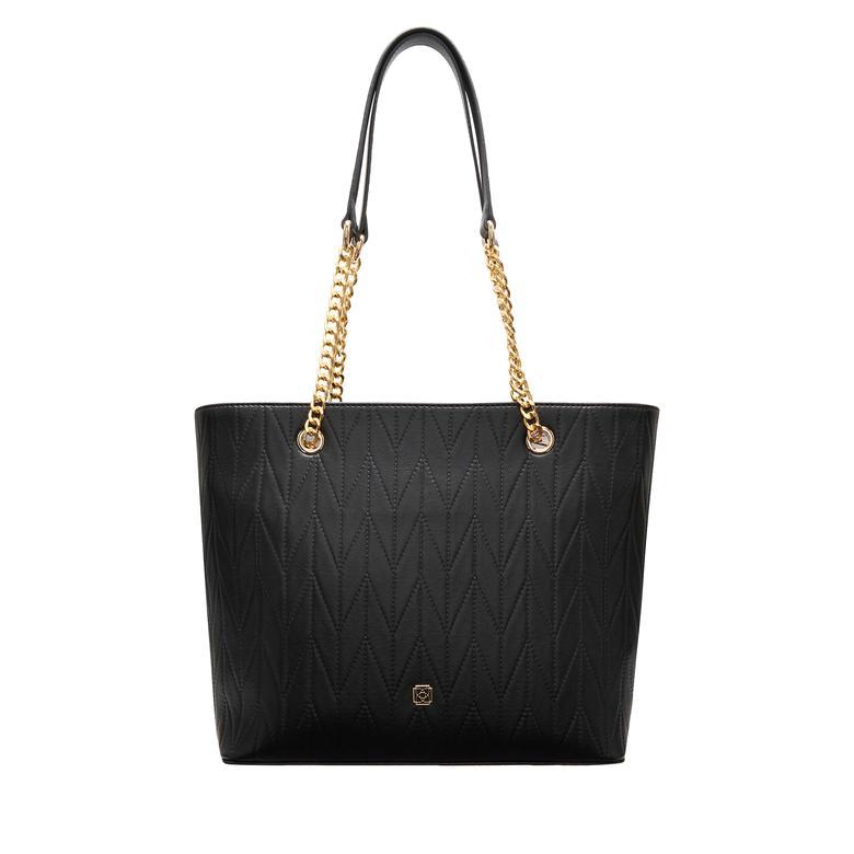 Siyah Kadın Alışveriş Çantası 2010048336001