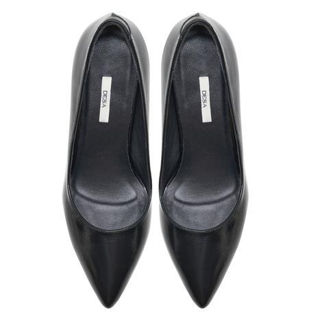 Marguerite Siyah Kadın Topuklu Klasik Ayakkabı 2010048044005