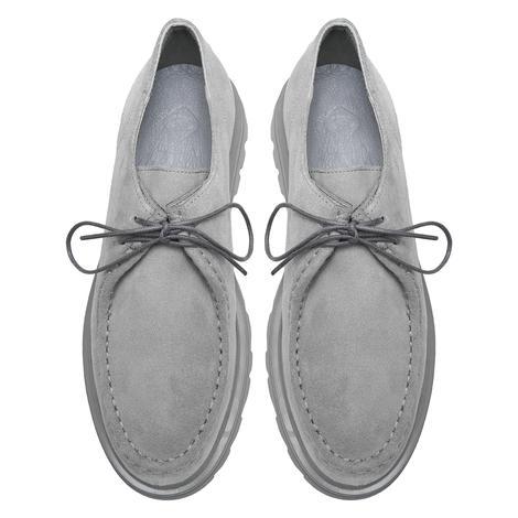 Rosaio Açık Gri Kadın Süet Günlük Ayakkabı 2010048060008